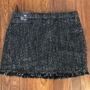 New look mini skirt with frayed hem